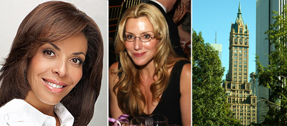 Lisa Simonsen, Dolly Lenz and the Sherry Netherland (credit: CityRealty)