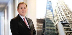 Regus CEO Mark Dixon and 104 West 40th Street