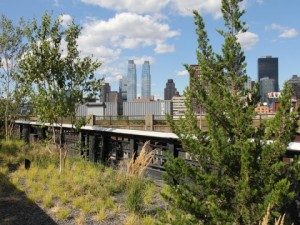 A parcel of land near the High Line