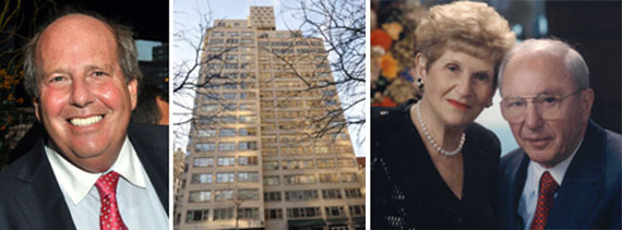 From left: Jeffrey Feil, 445 East 80th Street, Gertrude Feil and Louis Feil