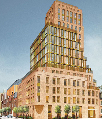 Rendering of 100 Barrow Street