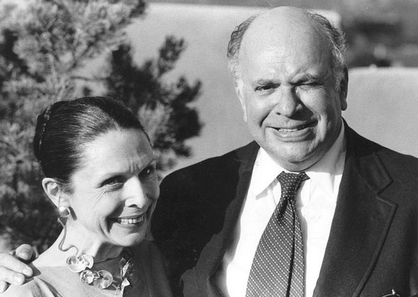 From left: Nancy and William Zeckendorf Jr. (Credit: Santa Fe New Mexican)