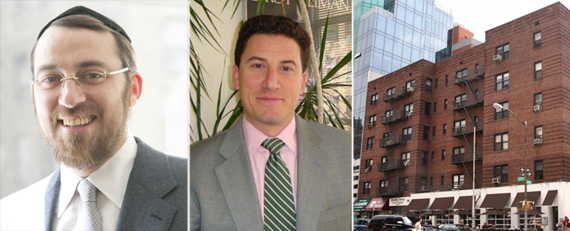 From left: Lipa Lieberman, David Schechtman and 119 Seventh Avenue