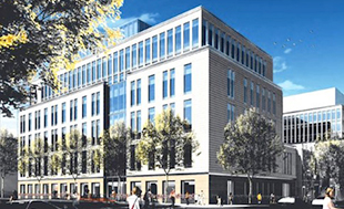 Latest rendering of New York Methodist Hospital at 506 Sixth Street in Park Slope.