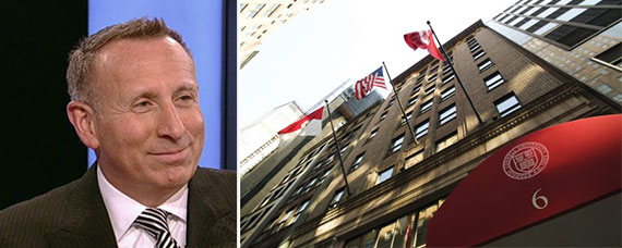 Stephen Meister and the Cornell Club at 6 East 44th Street