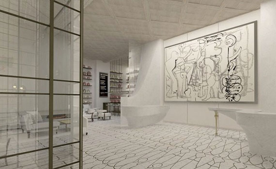 Rendering of the interior of 114 East 32nd Street (Credit: The Marmara Park Avenue)