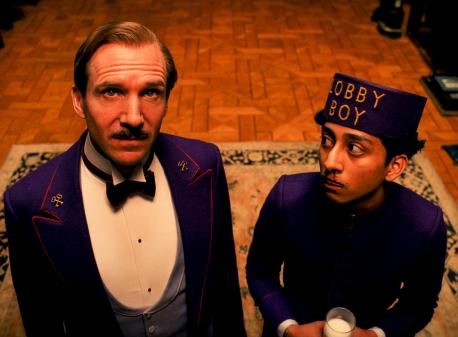 "Gustave H. and Zero Moustafa in ""The Grand Budapest Hotel"""