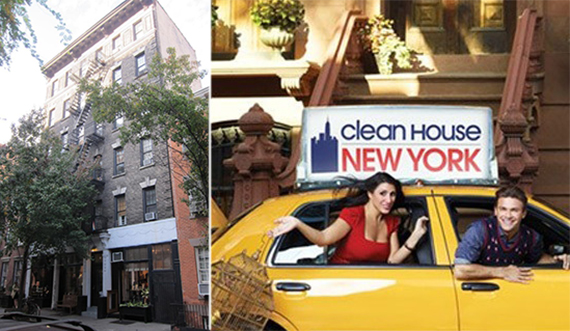 The hosts of Clean House New York and 19 Christopher Street