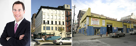 From left: Jeff Blau, 270 and 264 West Street