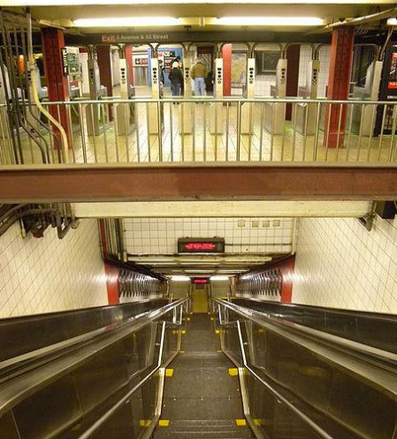 East 53rd Street subway station in Midtown East
