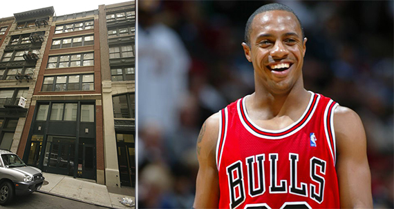 From left: 58 Thomas Street and Jay Williams