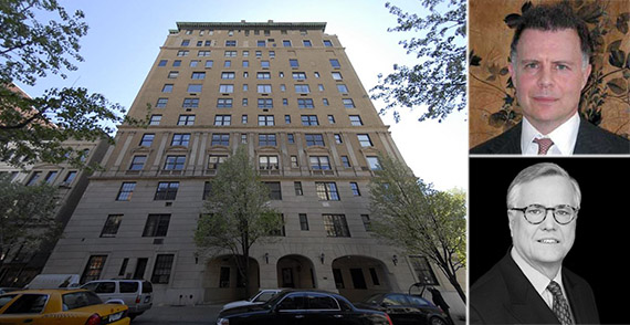From left: 1107 Fifth Avenue, Mark Kingdon and Armin Allen