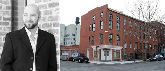 From left: Adam Meshberg and 69 Gold Street