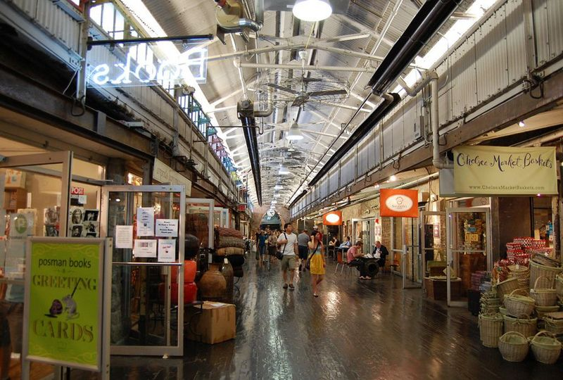 Retail at Chelsea Market
