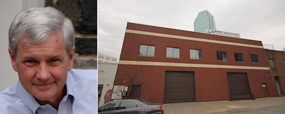 From left: Twining Properties CEO Alex Twining and 27-19 44th Drive, Long Island City