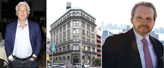 From left: Aby Rosen, 190 Bowery and Bob Knakal