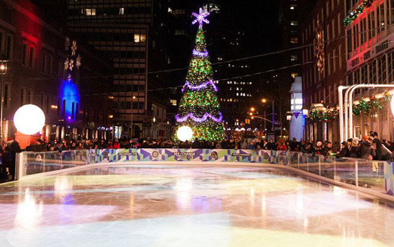 South Street Seaport at Christmas