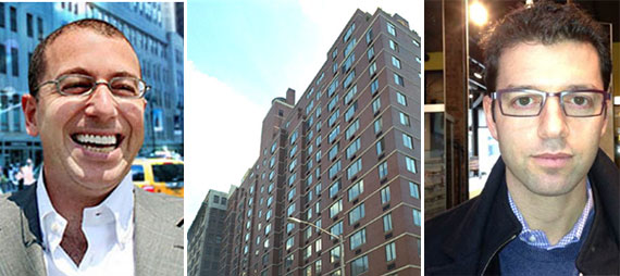 From left: Joseph Sitt, Chelsea Court at 250 West 19th Street (Credit: CityRealty) and Jonathan Fishman