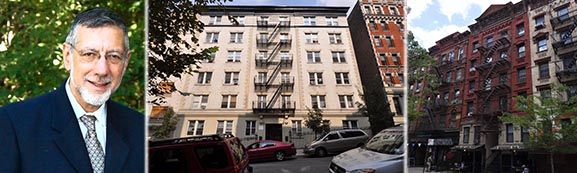From left: Rubin Schron, 605 West 141st Street and 172 Rivington Street