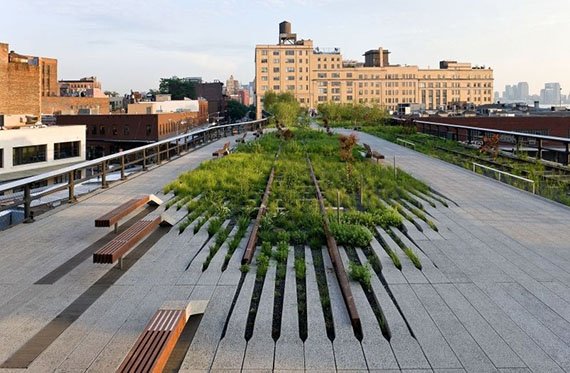 The High Line on the West Side