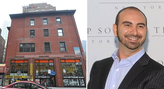 From left: 218 Madison Avenue and Alex Sapir
