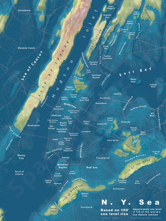 new-york-city-is-a-similar-story-even-after-only-100-feet-of-sea-level-rise-the-island-of-manhattan-is-almost-totally-submerged-brooklyn-and-queens-are-reduced-to-a-handful-of-small-islands-and-the-iconic-statue-of-liberty-washed-away