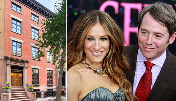 20 East 10th Street in Greenwich Village, Sarah Jessica Parker and Matthew Broderick