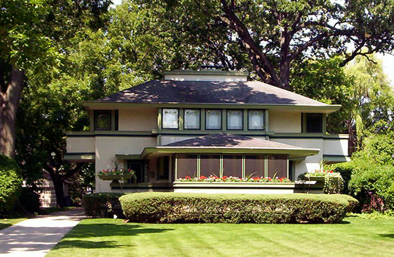 Frank Lloyd Wright's J Kibben Ingalls home in Chicago