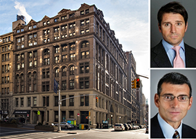 287 Park Avenue South, Geoffrey Newman (top) and Mark Weiss