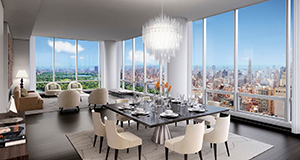 A unit at One57