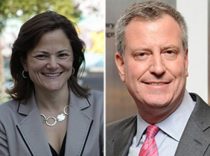Melissa Mark-Viverito Bill de Blasio