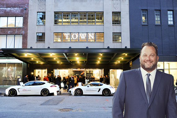 Andrew Heiberger and Town's Meatpacking District office