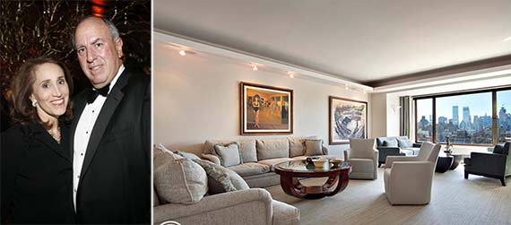 Daniel and Bonnie Tisch and their new Fifth Avenue digs