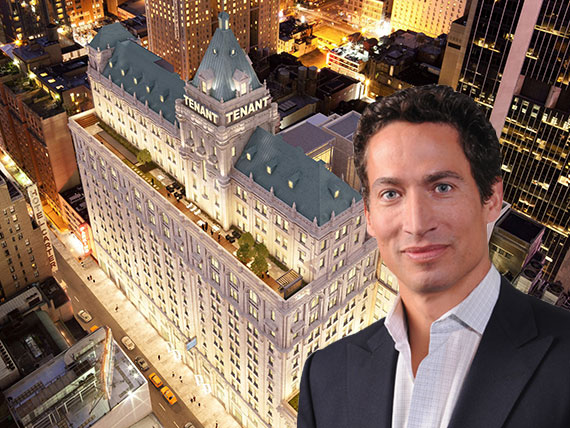 Collective CEO Joe Apprendi and 229 West 43rd Street near Times Square
