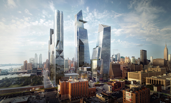 Hudson Yards is one of the New York projects partially funded by EB-5 investors