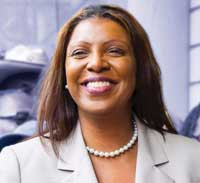 Pubic Advocate Letitia James