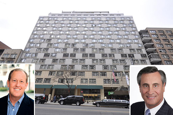 440 West 57th Street (inset from left: Woodridge's Michael Rosenfeld and William Meyer