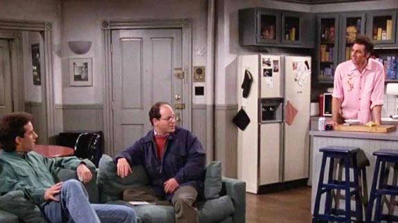 "Jerry Seinfeld's apartment on ""Seinfeld"""