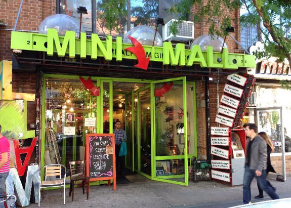 The Williamsburg Mini Mall (photo credit: Antonia's Journal)