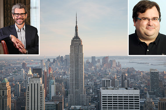 Empire State Building Anthony Malkin Reid Hoffman