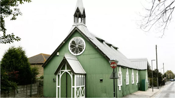 "The ""tin church"" in Kent"
