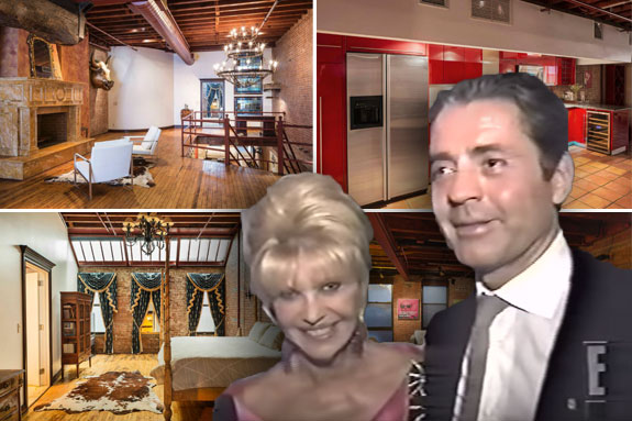 554 Broome Street and Ivana Trump and Roffredo Gaetani in the 1990s