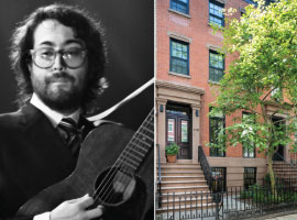 From left: Sean Lennon and 155 West 13th Street