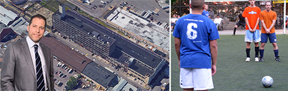 Josh Zegen, 14 53rd Street in Brooklyn and the Urban Soccer League