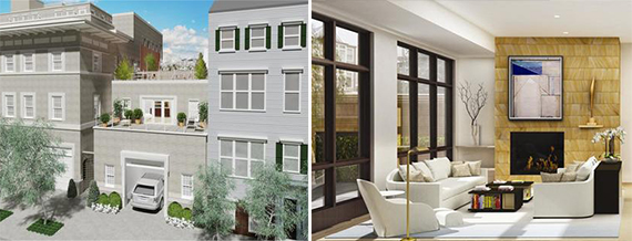 Rendering of 72 Poplar Street in Brooklyn Heights