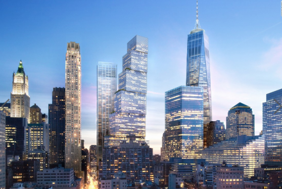 Rendering of 2 World Trade Center