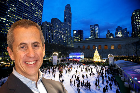 Danny Meyer and the Pound and Holiday Shops at Bryant Park