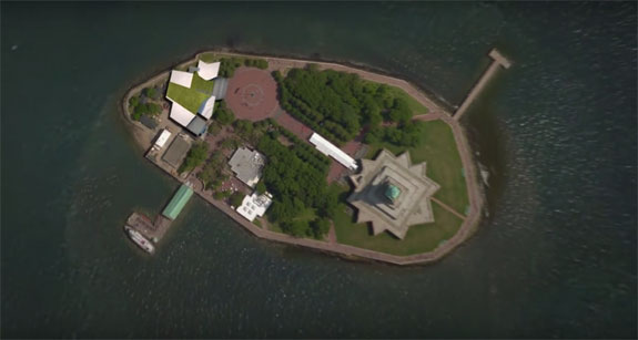 A rendering of the Statue of Liberty Museum.Statue of Libery