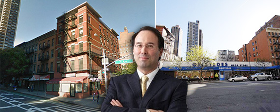 From left: 1647-1651 First Avenue, Gary Barnett and 350 East 86st Street