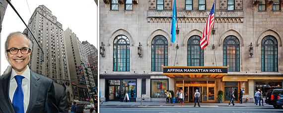 Highgate Holdings co-founder Mahmood Khimji (credit: Steve Friedman) and the Addnia Manhattan